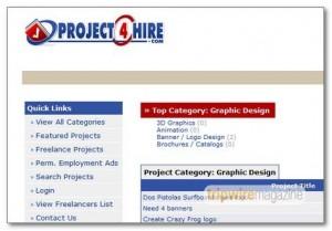 Project4hire - сайт с фрийланс проекти