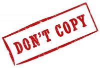 Не копирайте чуждо съдържание