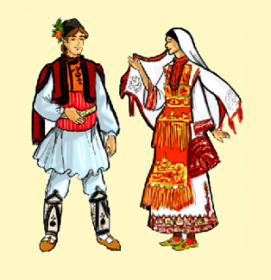 Фрида и Рачо се записват на народни танци