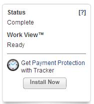 WorkView status